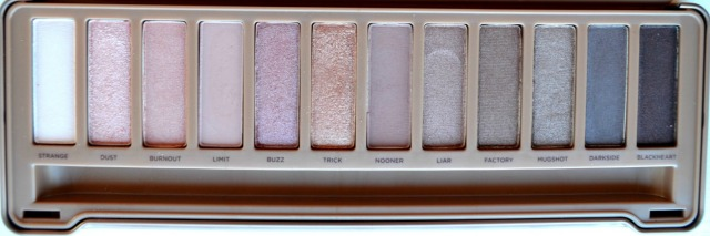Naked 3 palette color